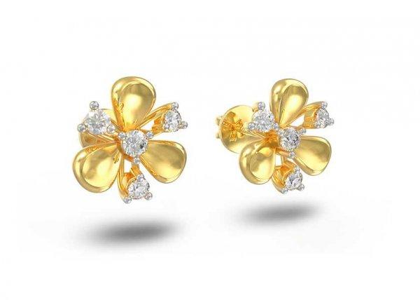 Milena Diamond Earring