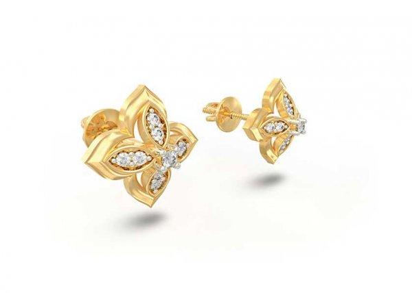 Adela Diamond Earring