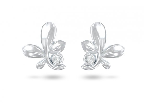 Avery Diamond Earring