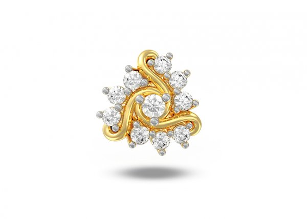 Andela Diamond Nose Pin