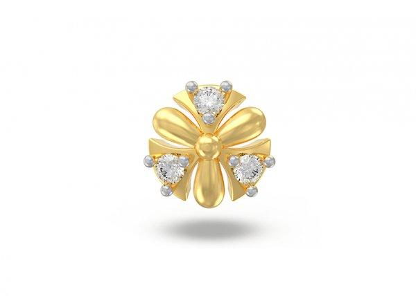 Teodora Diamond Nose Pin