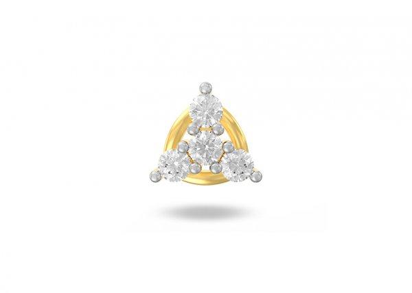 Amina Diamond Nose Pin