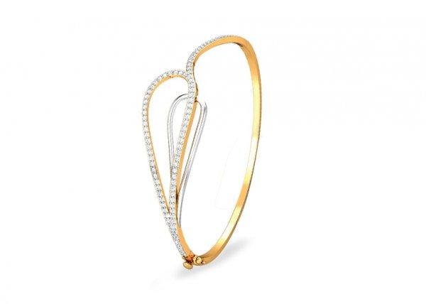 Pratyaya Diamond Bracelet