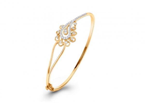 18k Yellow Gold Colour Diamond Bracelet 1.270Ct SG10885BN