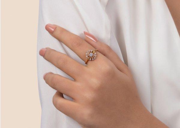 18k Yellow Gold Mireya Diamond Ring 0.250Ct SG16831R