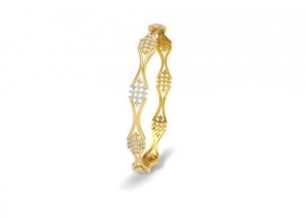 Kiara Diamond Bangle