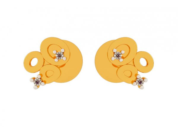 Chatushkarni Diamond Earring