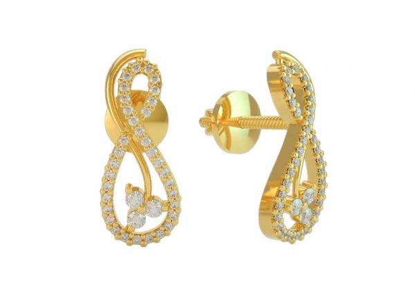 Thalia Diamond Earring