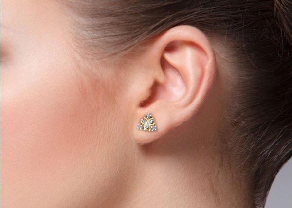 Aeryn Diamond Earring