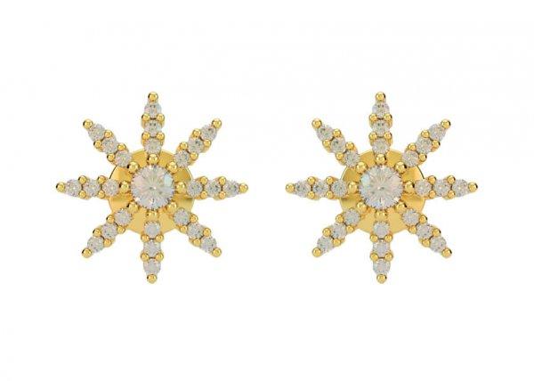 Abhigna Diamond Earring
