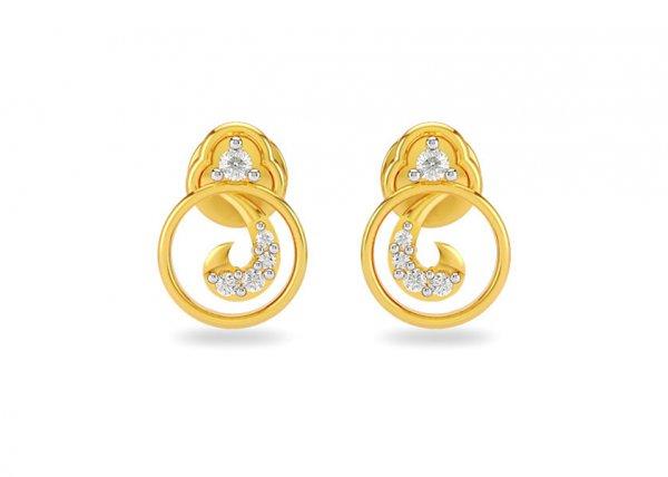 Arya Diamond Earring
