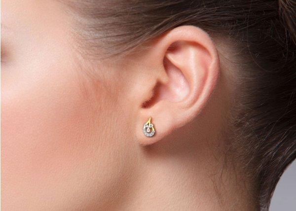 Kelvi Diamond Earring