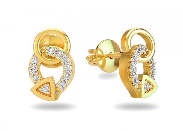 Diamante Diamond Earring