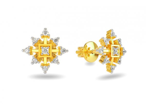 Nona Diamond Earring
