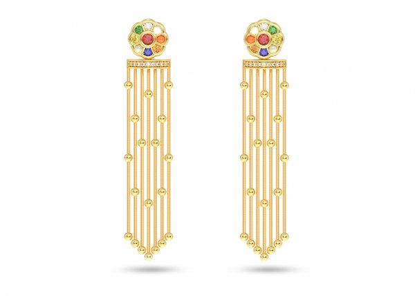 Malya Detachable Diamond Earring