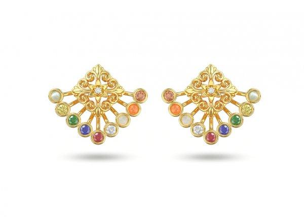 Asav Diamond Earring