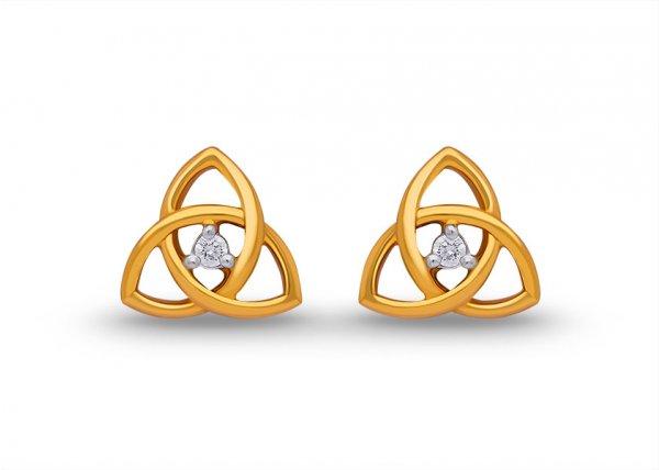 Eustoma Diamond Earring