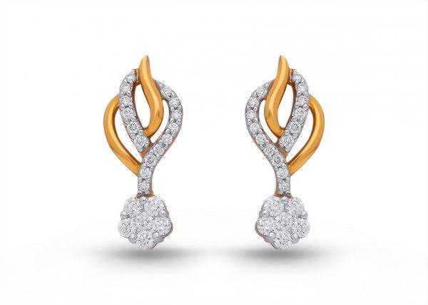 Brighid Diamond Earring