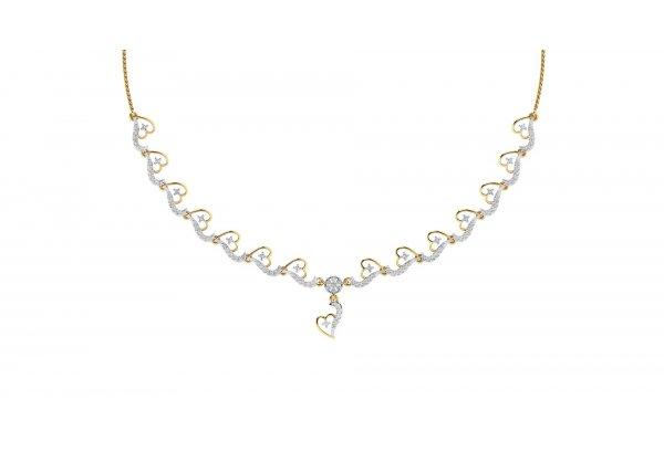 18K Yellow Gold IF-HI Diamond  1.126 ct-SDNK1117
