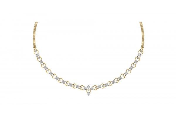 18K Yellow Gold IF-HI Diamond  1.113 ct-SDNK1157