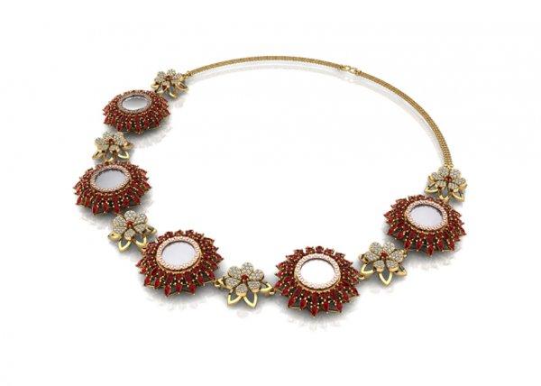 Ashtamangalya Necklace