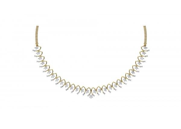 18K Yellow Gold IF-HI Diamond  2.03 ct-SDNK1288