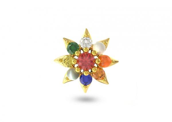 Mitra Diamond Nosepin