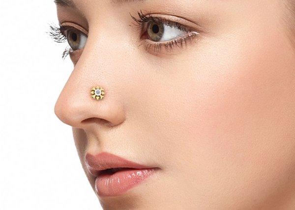 Natalia Diamond Nose Pin