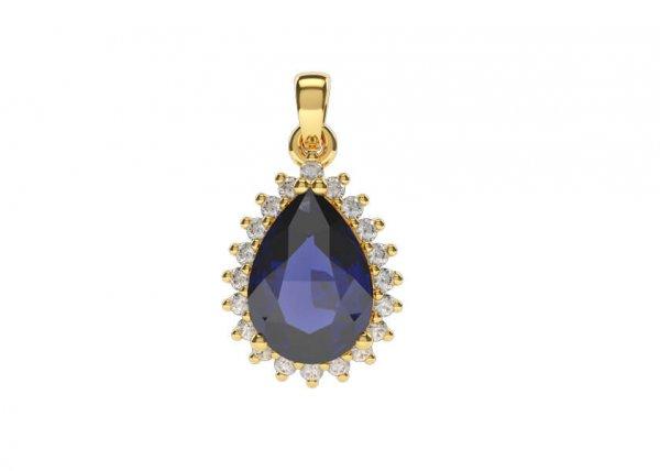 Varya Diamond Pendant