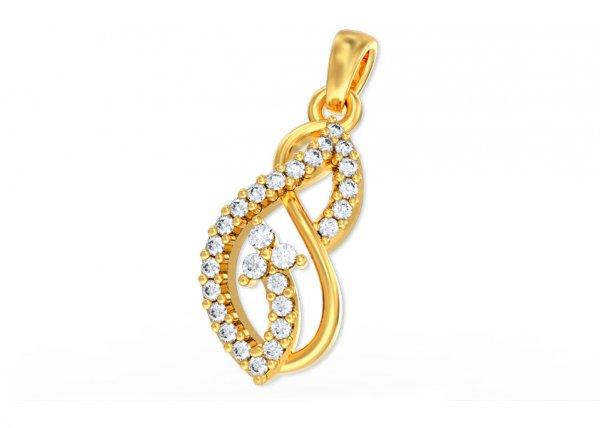 Hila Diamond Pendant