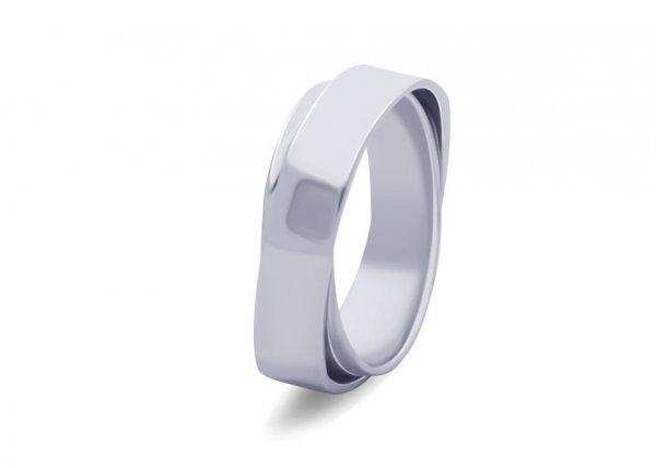 Aziza Platinum Ring
