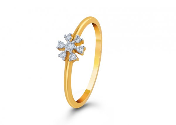 Alexandrina Diamond Ring