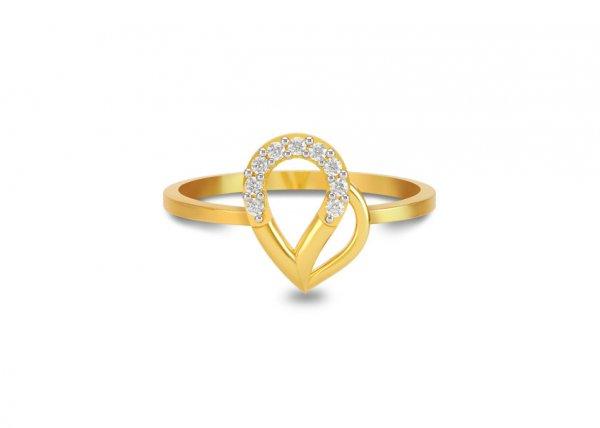 Amine Diamond Ring