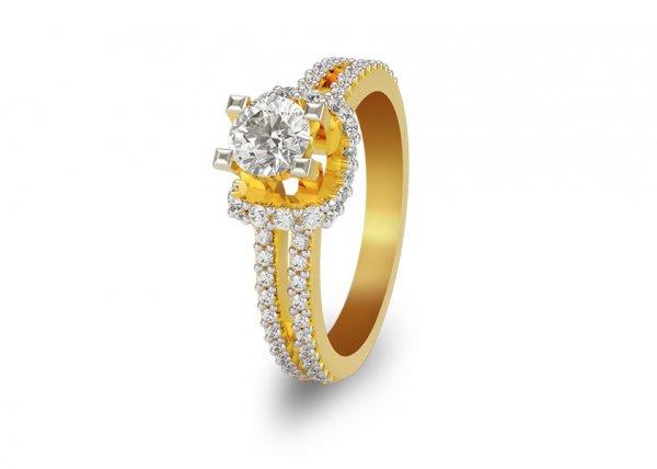 Wael Diamond Ring