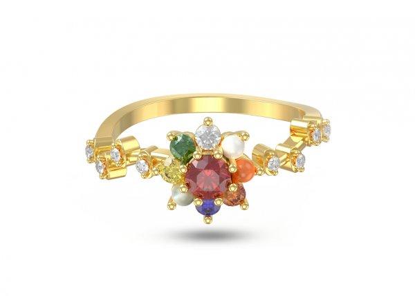 Kanishk Diamond Ring