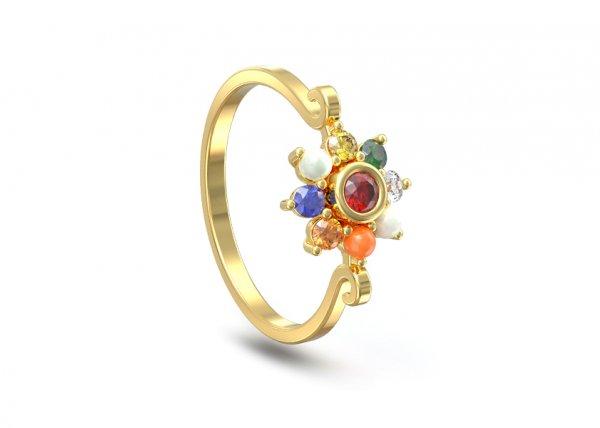 Nilay Diamond Ring