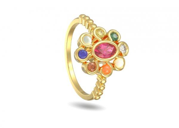Prayag Diamond Ring
