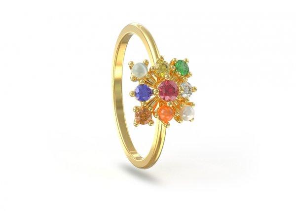 Saatvik Diamond Ring