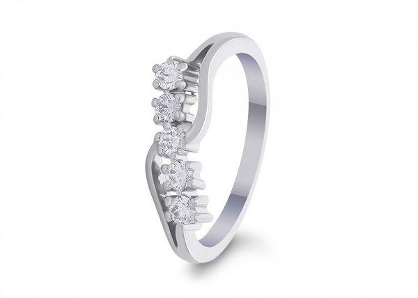 Beryl Diamond Ring