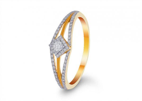 Cristal Diamond Ring