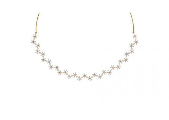 18K Yellow Gold IF-HI Diamond  1.392 ct-SDNK1138
