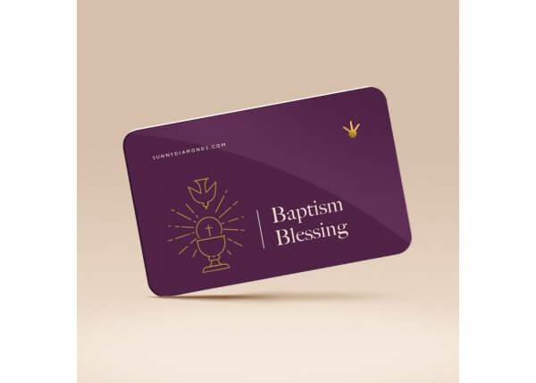 Baptism Blessing