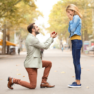 How to pick the perfect place for your wedding proposal